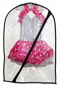 Children's Garment Bag, Infant, Child Clothing Protector Bag - Clear - Small
