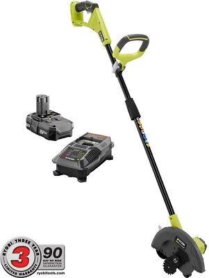 BLACK+DECKER  20-Volt Cordless 2-in-1 Grass Trimmer//Lawn Edger w//2.5Ah Battery