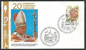 1983 Vaticano Viaggi Del Papa Fiera Di Milano - Rm2