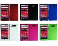 For Motorola Triumph WX435 Rubberized Snap-On Hard Case Cover Protective
