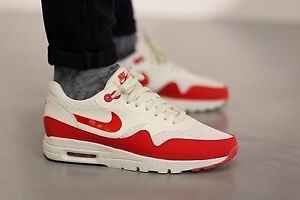 85909b41cc NIKE Air Max 1 Ultra Essential Wmn Shoes Sz 8.5 704993-100 Sail ...