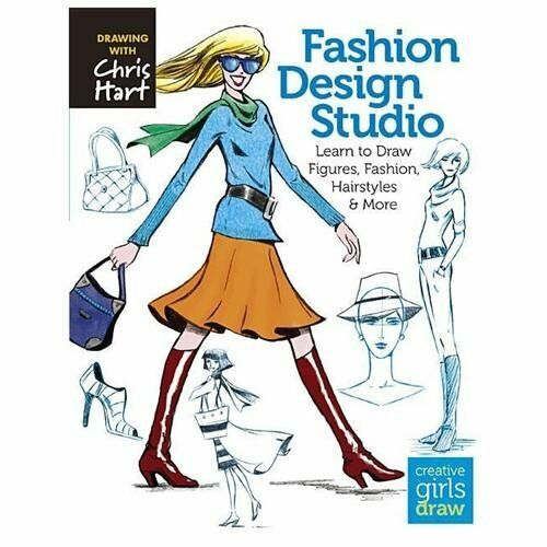 Creative Girls Draw Ser Fashion Design Studio Learn To Draw Figures Fashion Hairstyles And More By Christopher Hart 2013 Trade Paperback For Sale Online Ebay