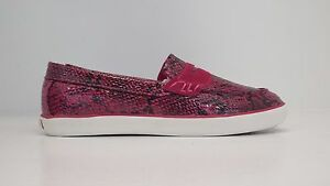 Cole Haan Girl Pinch LTE Loafers Pink Snke 220094 Sizes 4.5-7 BRAND NEW IN BOX