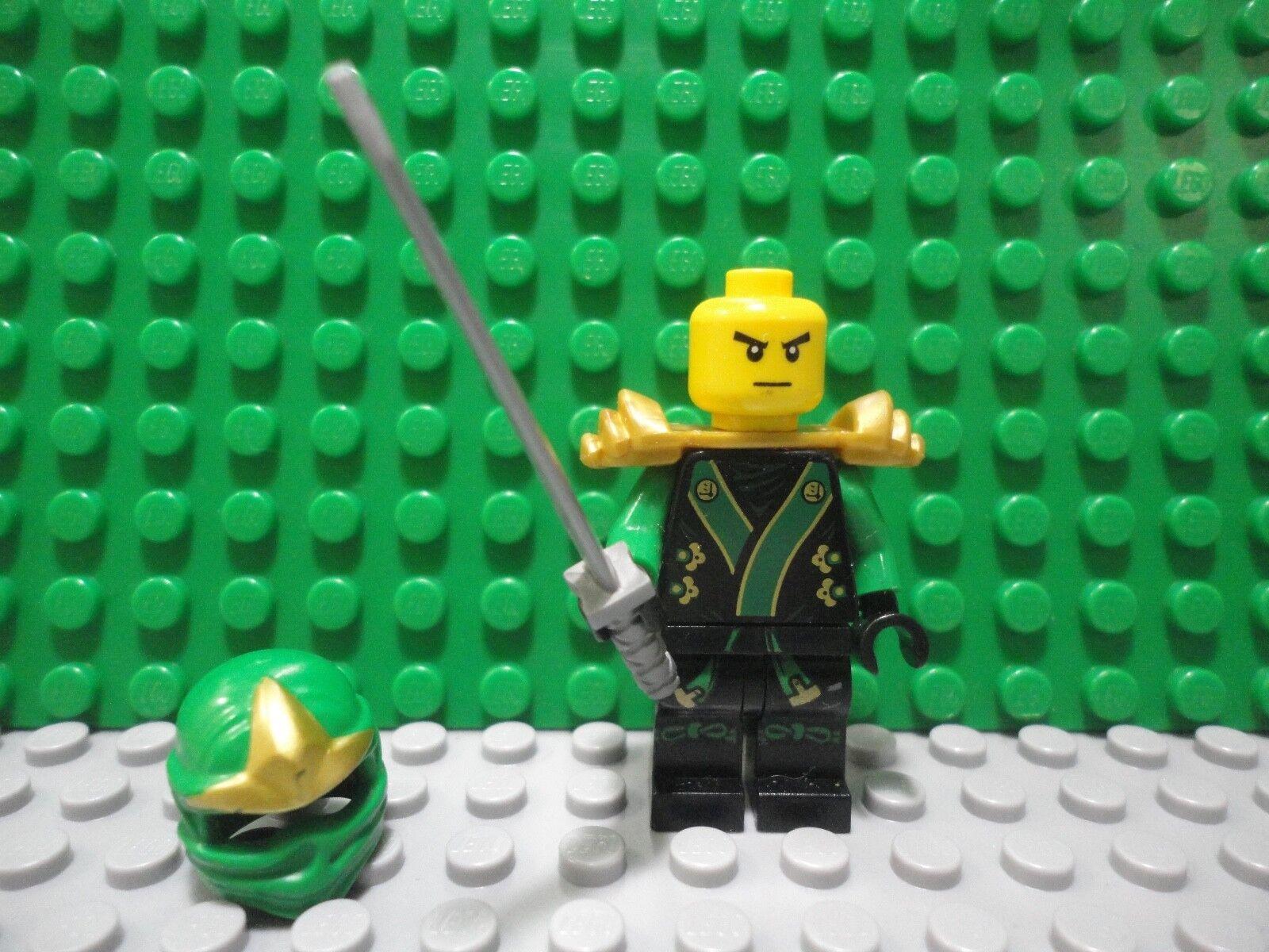 Lego Lego Lego mini figure Ninjago Lloyd ZX Green Ninja 37c20e