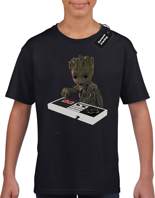 GUARDIANS 5 CHARACTERS KIDS CHILDRENS T SHIRT FAN GALAXY OF THE GROOT ROCKET