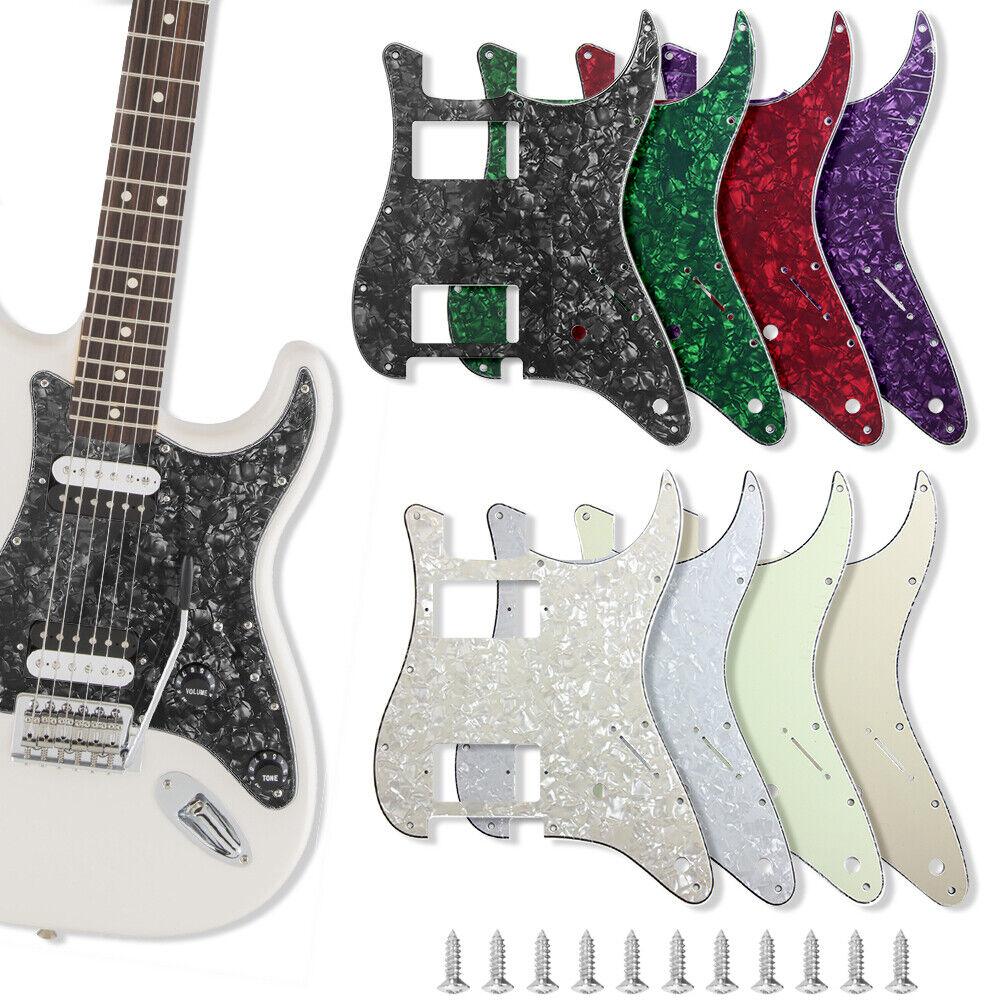Fender Strat Pickguard : guitar pickguard for fender strat stratocaster parts hh 2 humbucker 3 ply ebay ~ Vivirlamusica.com Haus und Dekorationen