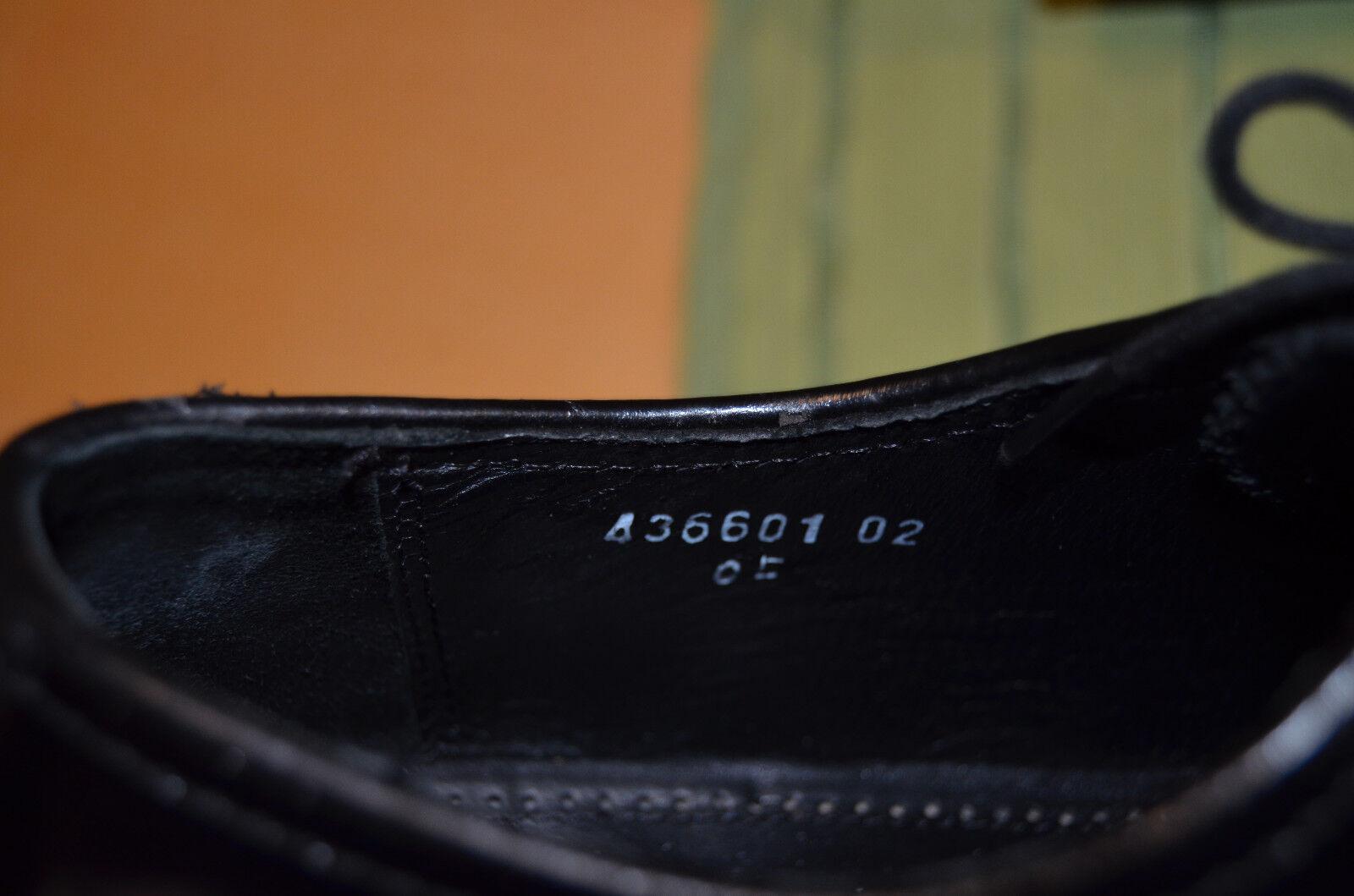 schwarze Lederschuhe  Herrenschuhe von Florsheim Modell  Lederschuhe Lexington Gr. 8 e6492c