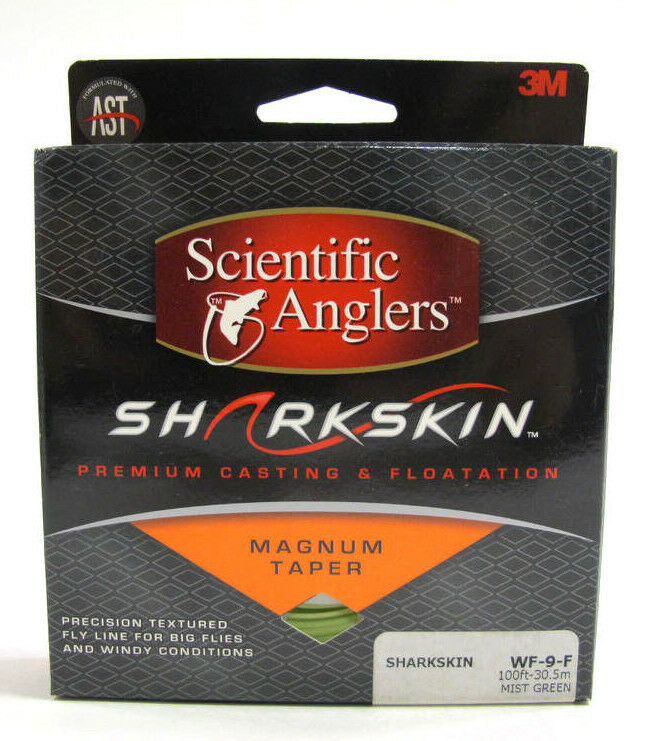 Scientific Anglers Sharkskin Magnum Taper Fly Line WF9F