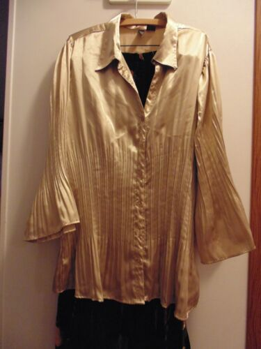 Sere Nade Gold size 3X blouse with a matching full
