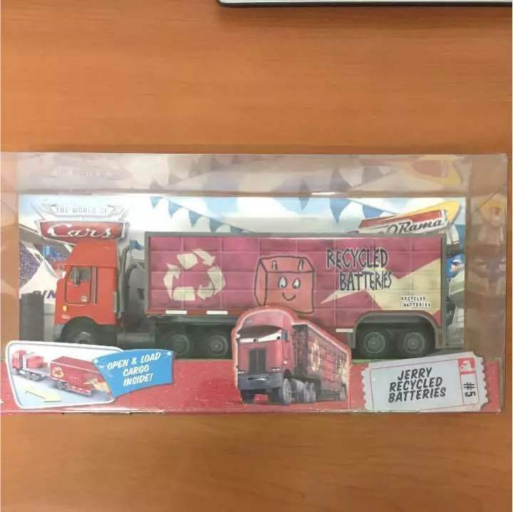 Cars Mattel Peterbuilt figure from JAPAn Free shipping