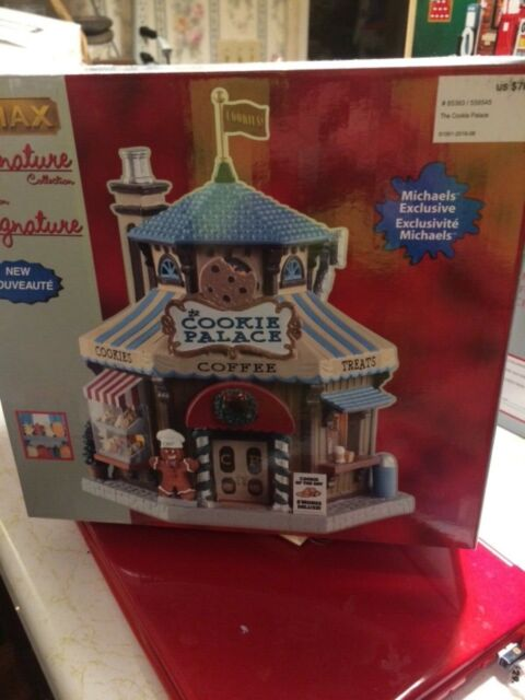 Lemax, Signature Collection,The Cookie Palace #85363 2018 NEW   eBay