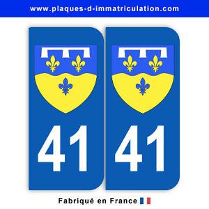 Autocollant pour plaques dimmatriculation d/épartement 2B