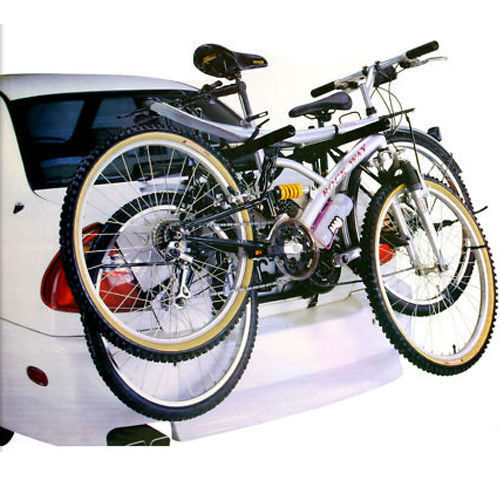2  BICYCLE CARRIER CAR RACK BIKE TRAILER TOW BAR CYCLE UNIVERSAL SALOON BN