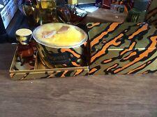Rare Tigress Faberge Cologne Extraordinaire Splash 1.0fl.oz 30ml Bath Powder 5oz