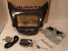 2011-2013 Hyundai Elantra Double DIN Car Stereo Dash/Bezel Kit GPS Antenna - New