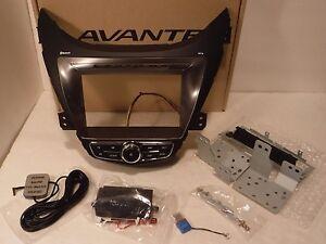 2011 2013 Hyundai Elantra Double Din Car Stereo Dash Bezel Kit Gps