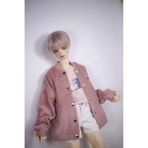 """1//4 Pink Jacket Coat Outfits For 17/"""" 44cm Tall BJD AOD AS MSD DD DK LUTS Dollfie"""