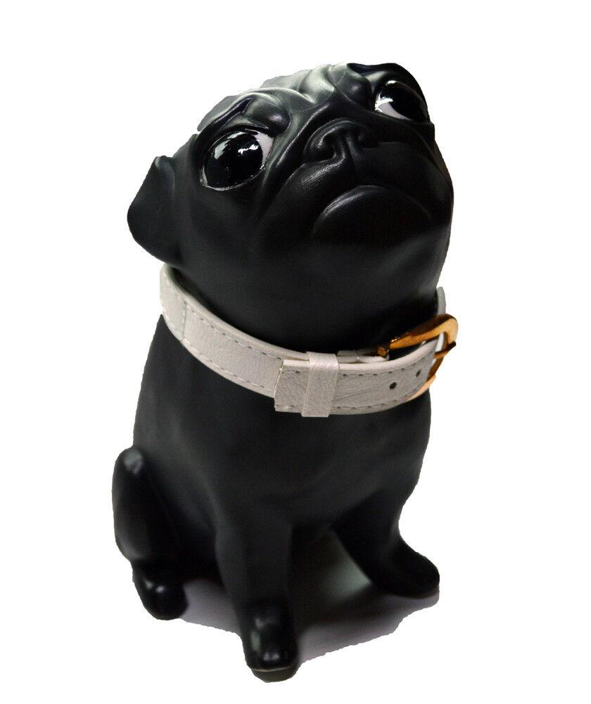 UTA KOLOCZEK-Estatuilla De Porcelana Pug-Oskar