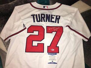 Ted Turner Signed Atlanta Braves Jersey 1 Day Manager 5-11-77 Beckett