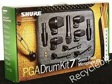 Shure PGADrumKit7 7 Piece Drum Microphone Kit PGA PG ALTA