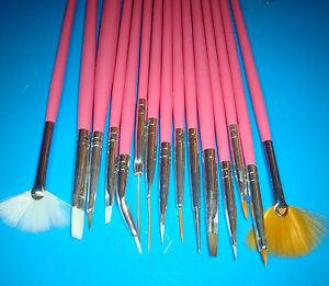 Set-De-15-Pinceles-Profesionales-Para-Decoracion-De-Unas-Nail-Brush-Acrylic