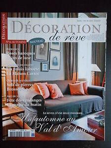 """Discret """"décoration De Rêve"""" N°11 Automne 2007 GuéRir La Toux Et Faciliter L'Expectoration Et Soulager L'Enrouement"""