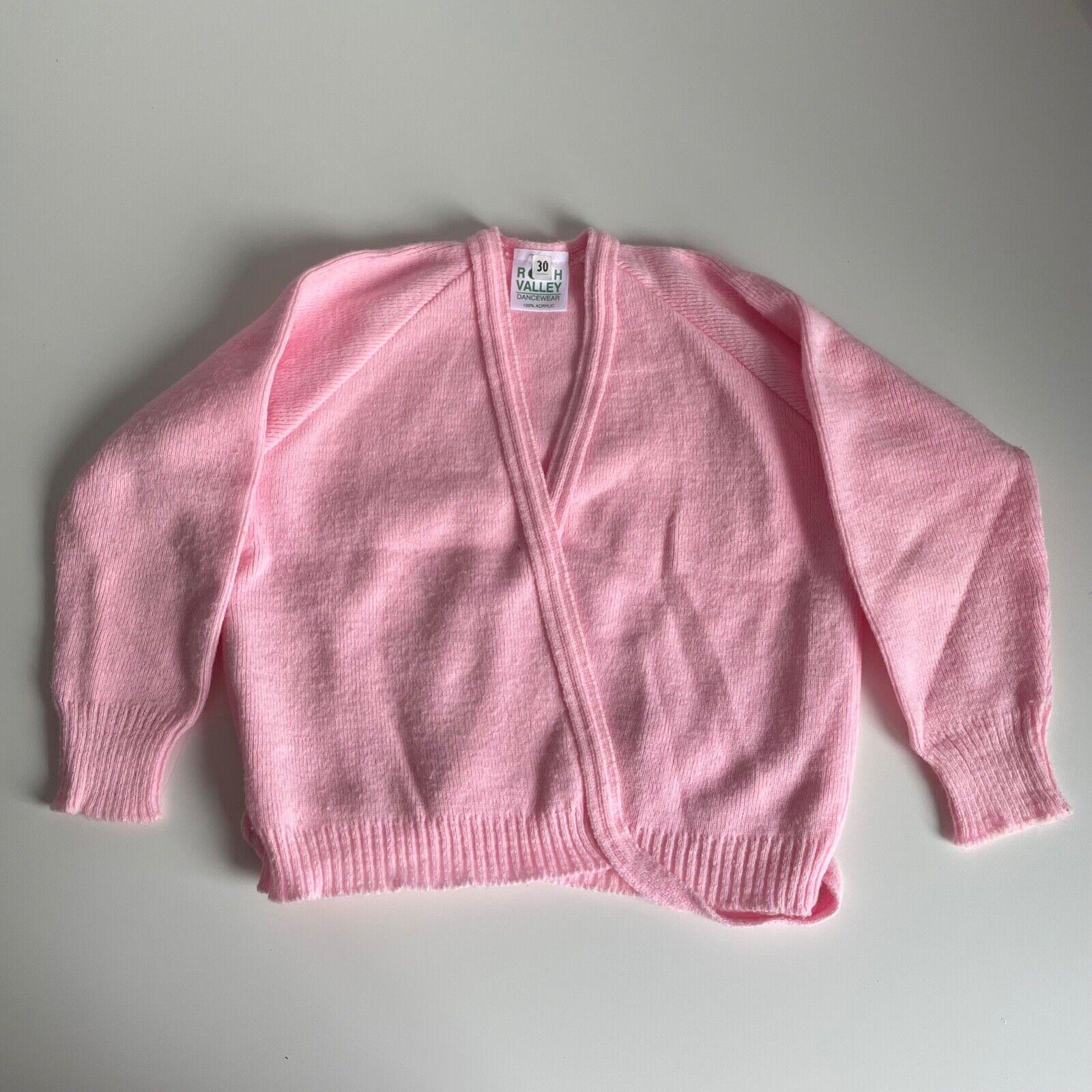 Roch Valley Ballet Cardigan, Pink, 30