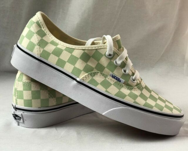 vans checkerboard shoes size 6