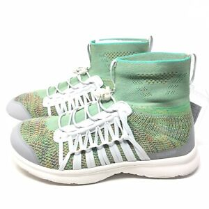 ac0bdb21299 Details about New Rare Keen Uneek Exo Mid Knit Sneaker Shoes Green Womens  Sz 7 M Hiking Water