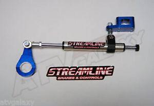 Streamline 7 Way Steering Stabilizer Dampener BLUE Yamaha Raptor 700 BT-S54-B