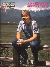John Denver's Greatest Hits Sheet Music E-Z Play Today Book NEW 000101563
