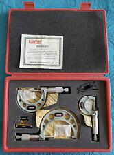 Micrometer Set Spi Outside Mechanical 0 3 Range 0001 Grad 12 361 2