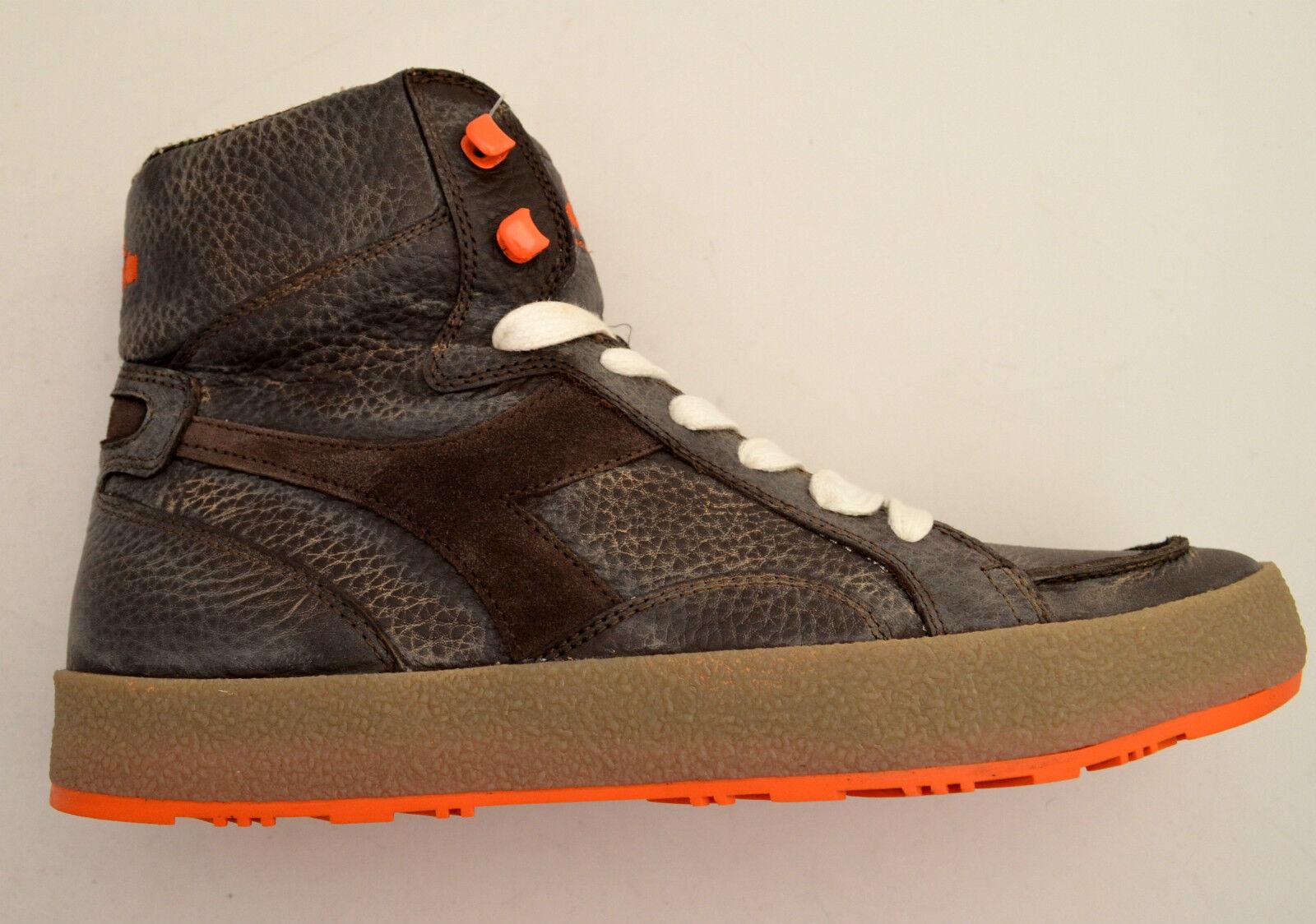 Diadora heritage Schuhe Turnschuhe Haut vintage Frau Frau Frau Frauen Herren 158919 BAK  027156