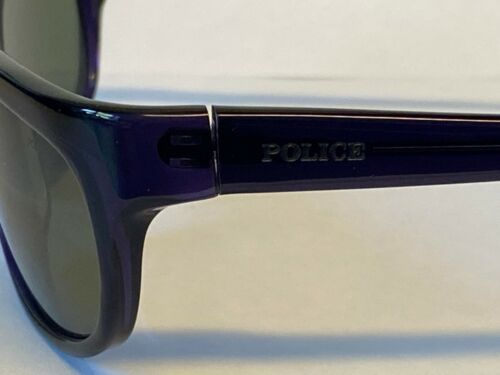 Police Mens Sunglasses Model S1291M 0955 Color Black Frame Purple 58