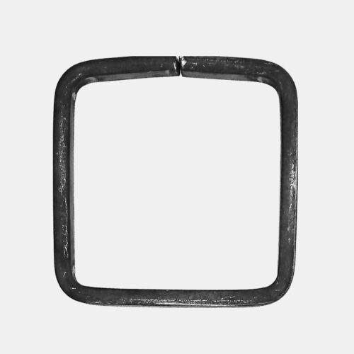 """0212680 Zierelement - verschiedene Maße Ringe /""""Karo/"""" 12 x 6 mm 2 Stück"""