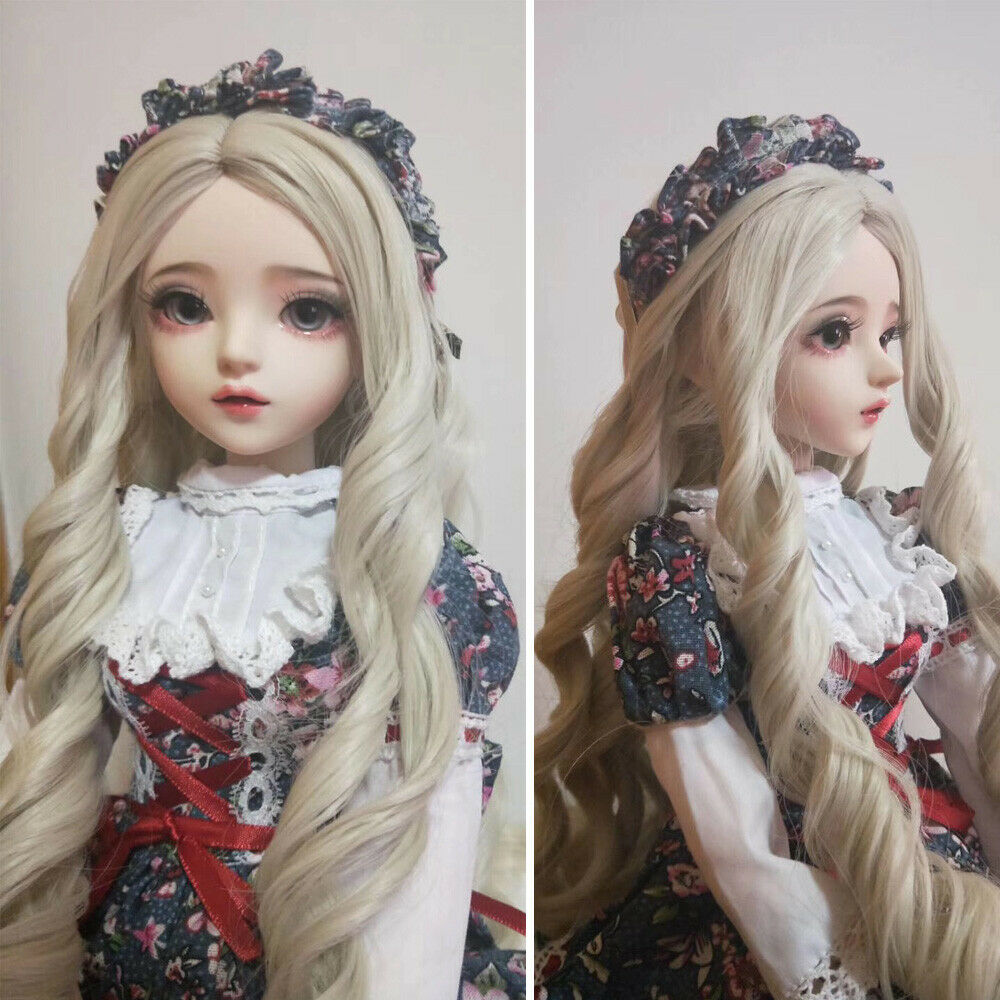 60cm 1 3 Ball Jointed BJD Doll Girls Toy + Free Makeup Wigs Changeable Eyes schuhe