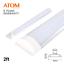ATOM-LED-Batten-Tube-Light-Slim-Ceiling-Fitting-2ft-20W-30W-Cool-White thumbnail 11