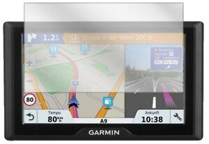 2x Displayschutz Folie Klar für Garmin Drive 61 LMT-S Schutzfolie Displayfolie