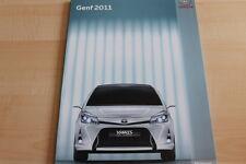 103372) Toyota Yaris Prius + FT-86 II concept - Genf - Pressemappe 03/2011