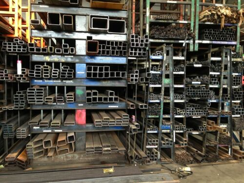 "steel square tubing 8/""x 8/""x .250/""x 36/"""