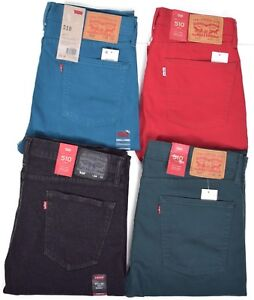 Levi's 510 Skinny fit Castro Blau Herren Jeans 3130 | eBay