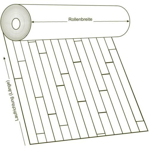 PVC Vinyl Bodenbelag Tarkett Bootsdeck Stabdeck Schiffsboden Teak 12,95€//m²
