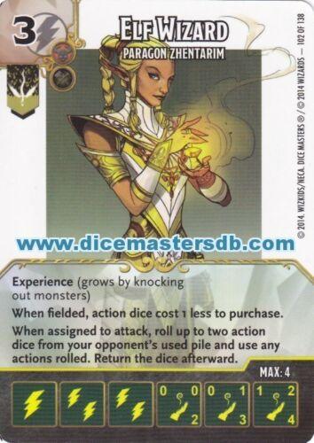 Elf WIZARD Paragon freiesten #102 dice Masters DUNGEONS & dragons battle für