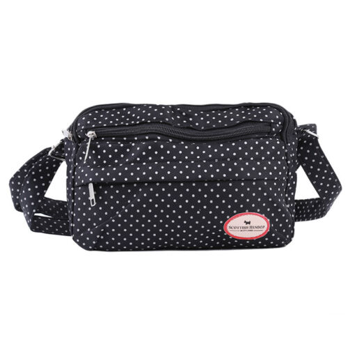 Portable Mummy Diaper Bags Baby Nappy Canvas Shoulder Changing Bag Small LH