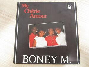 Single-Boney-M-My-Cherie-Amour-NL-PRESS-RAR