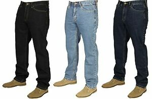 BNWT-Farah-Mens-Latest-Denim-Jeans-Pants-Straight-Leg-Sizes-30-40-Designer