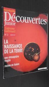 Revista Semanal Dibujada Descubrimientos Junior N º 2 Gallimard Buen Estado