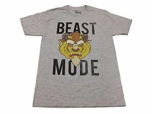 Disney-Beast-Mode-Beauty-And-The-Beast-Vintage-Original-Licensed-Men-039-s-T-Shirt