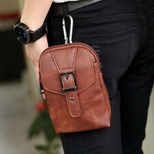 Men's Vintage Fanny Pack Hook Belt Waist Bag Shoulder Phone Coin Purse Pouch New