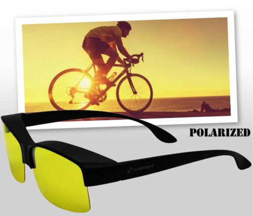 Saul Uomo ® polarizzata alla protezione dai raggi UV Anti Glare Occhiali guidare Notte Guida Occhiali ▀